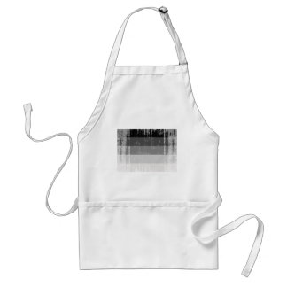 Straight Pride Flag distressed.png Adult Apron