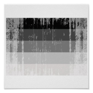 Straight Pride Flag distressed.png Print