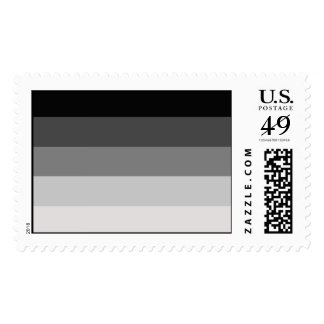 Straight Pride Flag Postage Stamp