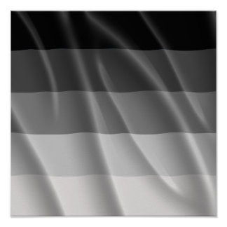 STRAIGHT PRIDE FLAG WAVY DESIGN POSTERS
