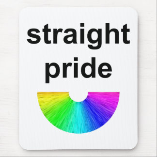 Straight Pride Mouse Pad