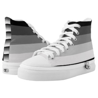 Straight Pride Printed Shoes