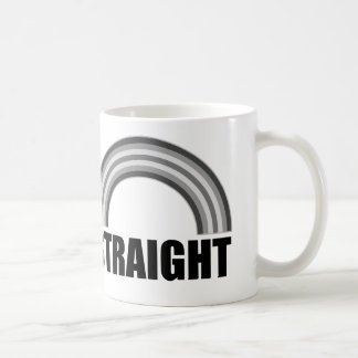 Straight Pride Rainbow Coffee Mug