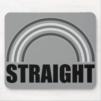 Straight Pride Rainbow Mouse Pad