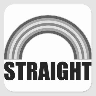 Heterosexual pride sticker