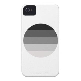 Straight Pride Round iPhone 4 Case