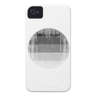 Straight Pride Round distressed.png iPhone 4 Cases