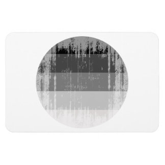 Straight Pride Round distressed.png Rectangular Photo Magnet