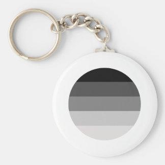 Straight Pride Round Keychains