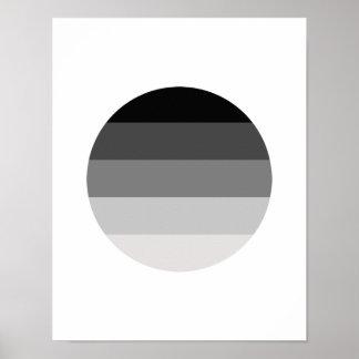 Straight Pride Round Print