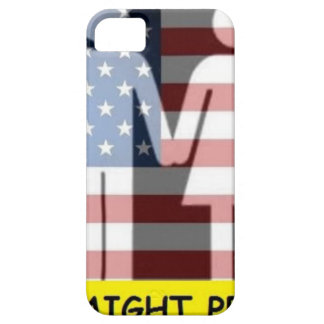 Straight Pride w flag iPhone SE/5/5s Case