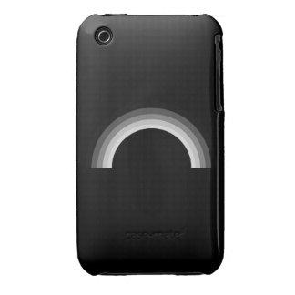 STRAIGHT RAINBOW iPhone 3 CASE