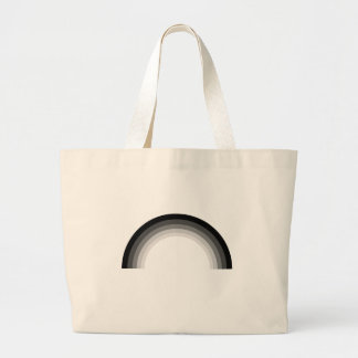 Straight Rainbow.png Canvas Bags