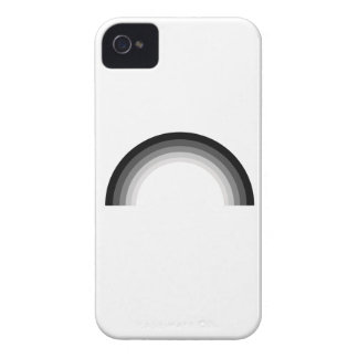 Straight Rainbow.png iPhone 4 Case-Mate Cases