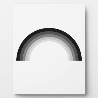 Straight Rainbow.png Display Plaque