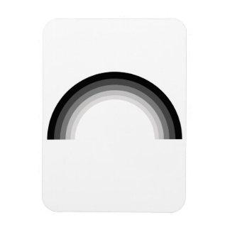 Straight Rainbow.png Rectangular Photo Magnet