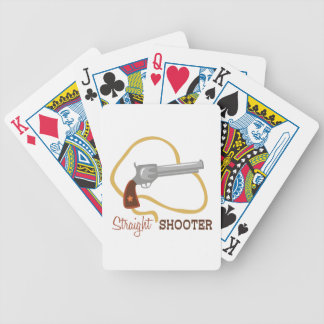 Straight Shooter Bicycle Playing Cards