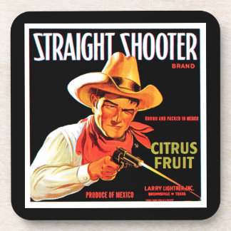 Straight Shooter Drink Coaster