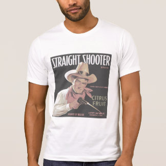 Straight Shooter faded destroyed T-Shirt