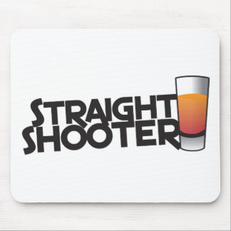 straight shooter mouse pad