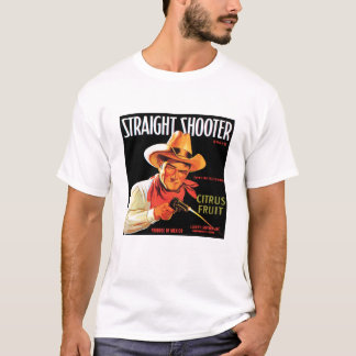 Straight Shooter M's destroyed moss T-Shirt