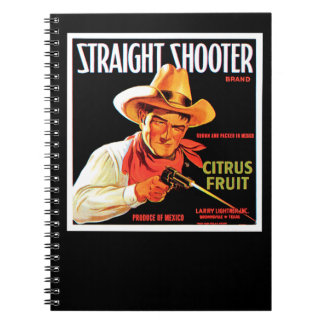 Straight Shooter Notebook