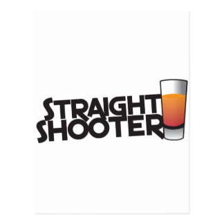 straight shooter postcard