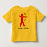 Straight Shooter (Red Archer) kids T Shirts