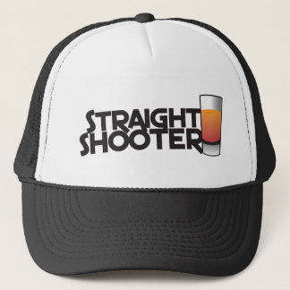 straight shooter trucker hat