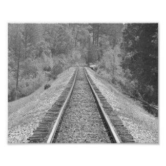 Straight Slope Photo Print