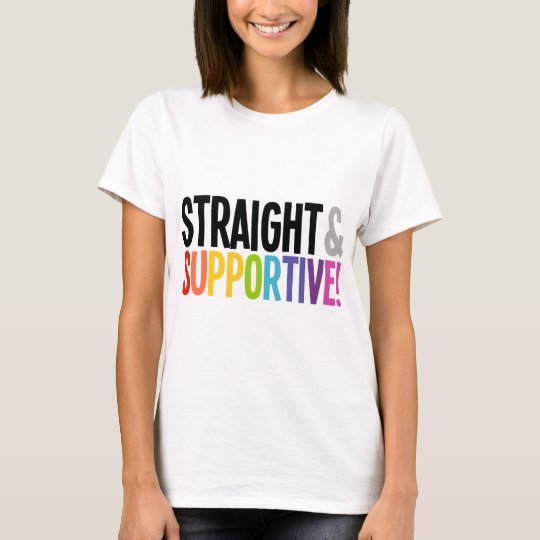 Straight & Supportive T-Shirt