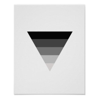 Straight Symbol Poster