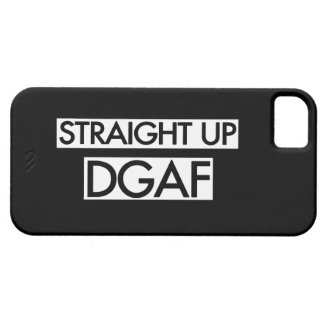 Straight Up DGAF iPhone SE/5/5s Case