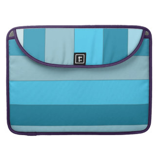 Straight Waves Sleeve For MacBook Pro