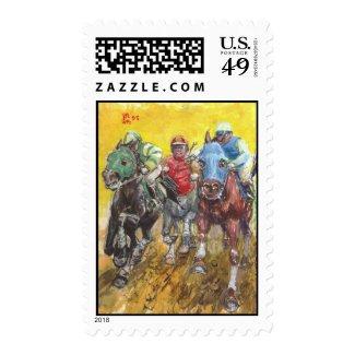 STRAIGHTAWAY! U.S. postage stamp