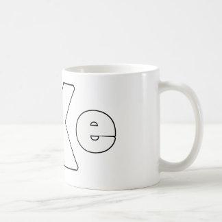 Straightedge 004 coffee mug