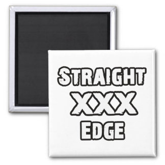 Straightedge 2 Inch Square Magnet