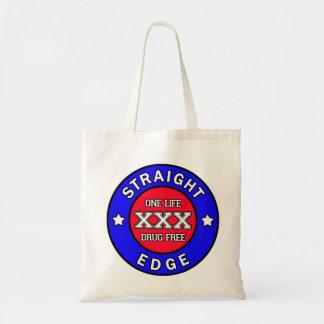 Straightedge bag