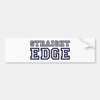 StraightEdge Bumper Sticker