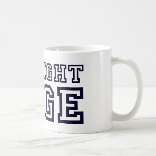 StraightEdge Coffee Mug