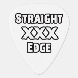 Straightedge Guitar Pick