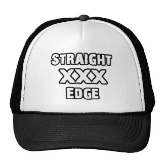 Straightedge hat