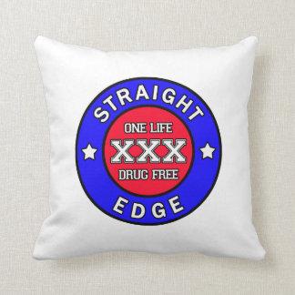 Straightedge pillow