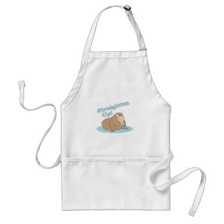 Straighten Up Adult Apron