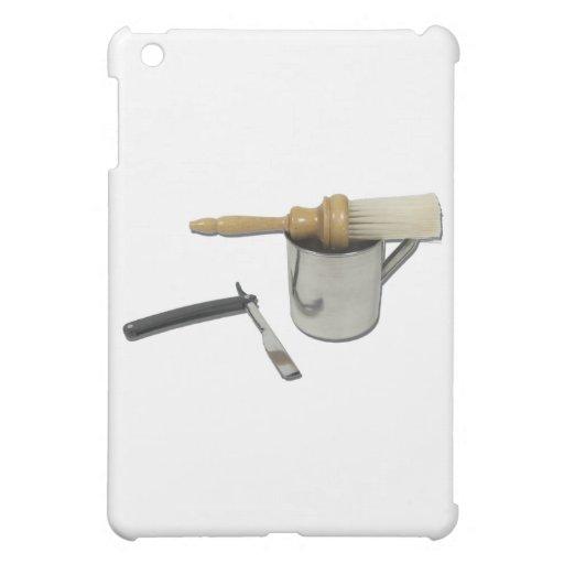 StraightRazorMugBrush101311 iPad Mini Covers