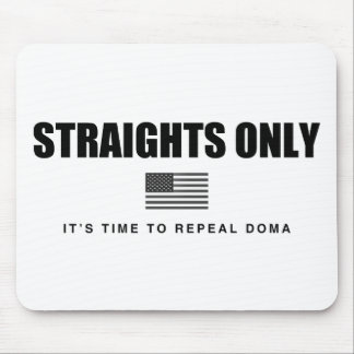Straights Only Mouse Pad