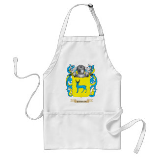 Strain Coat of Arms Family Crest Apron