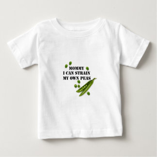 strained peas infant t-shirt