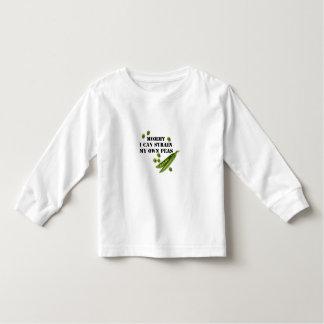strained peas shirt