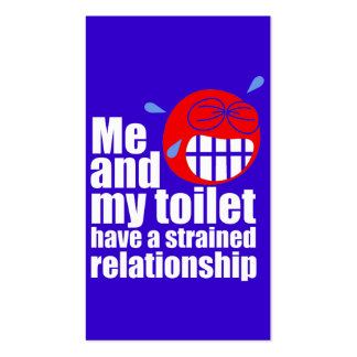 Strained Relationship Business Cards